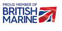 Proud member of British Marine cmyk eps for print